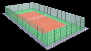 Площадка для тенниса ПДТ-3