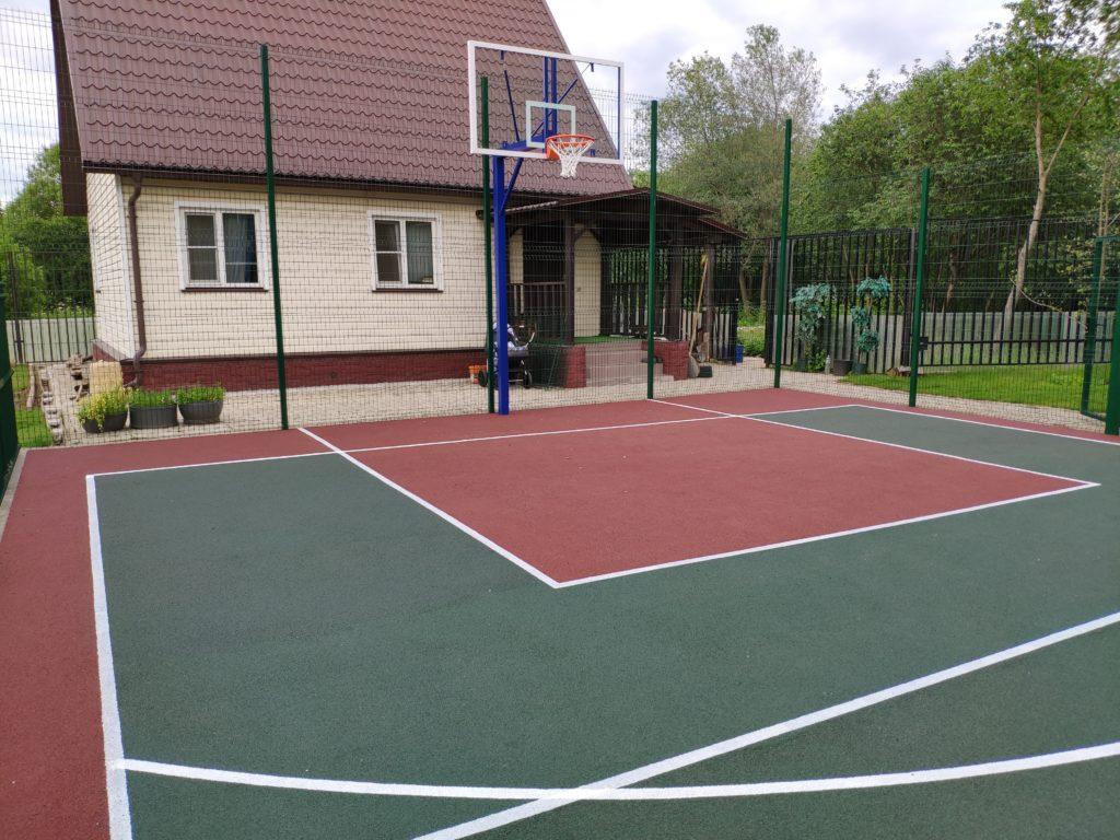 Апрелевка, деревня Мартемьяново — Универсальная спортплощадка