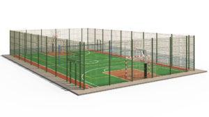Мини футбольная площадка