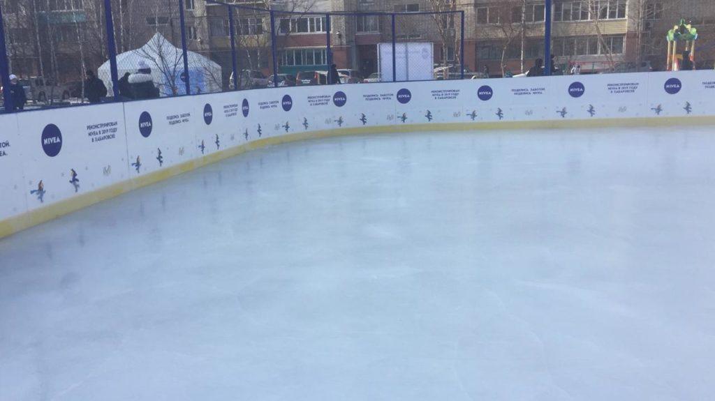 Брендированная хоккейная коробка для NIVEA