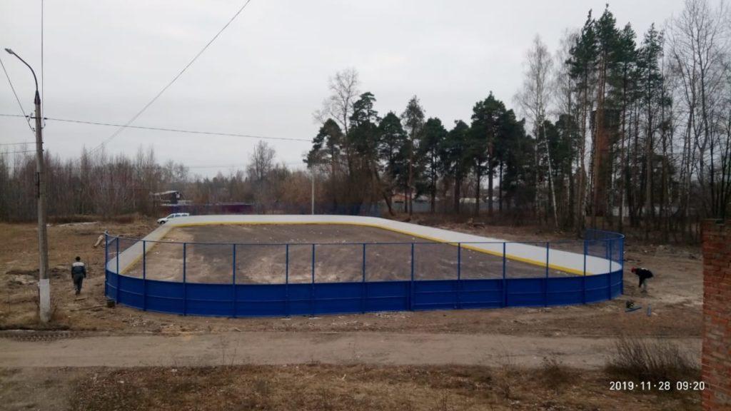Недорогая качественная хоккейная коробка г. Шатура