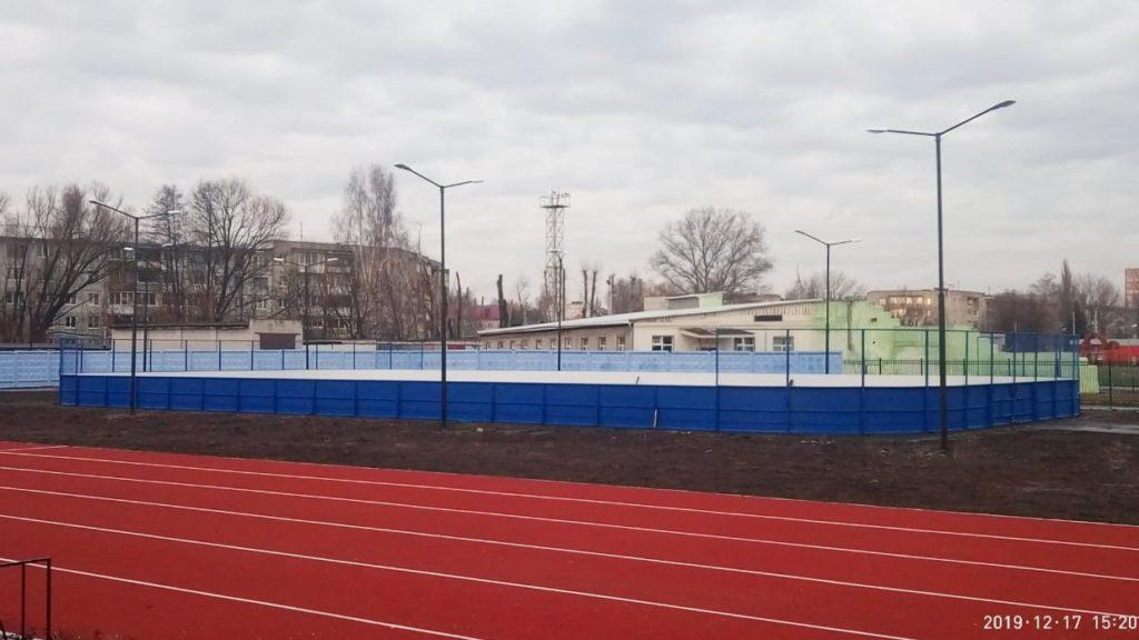 Брянск (стадион МЧС) — Хоккейная коробка