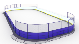 Хоккейная коробка 15×30