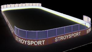 Хоккейная коробка 20×40