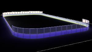 Хоккейная коробка 30×60