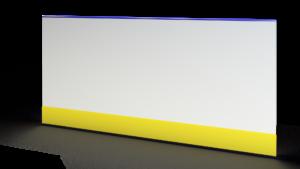 Хоккейный борт из стеклопластика 2.44 м