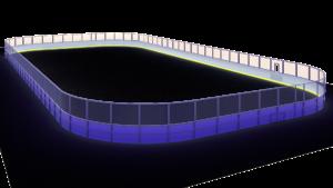 Хоккейная коробка 26×56